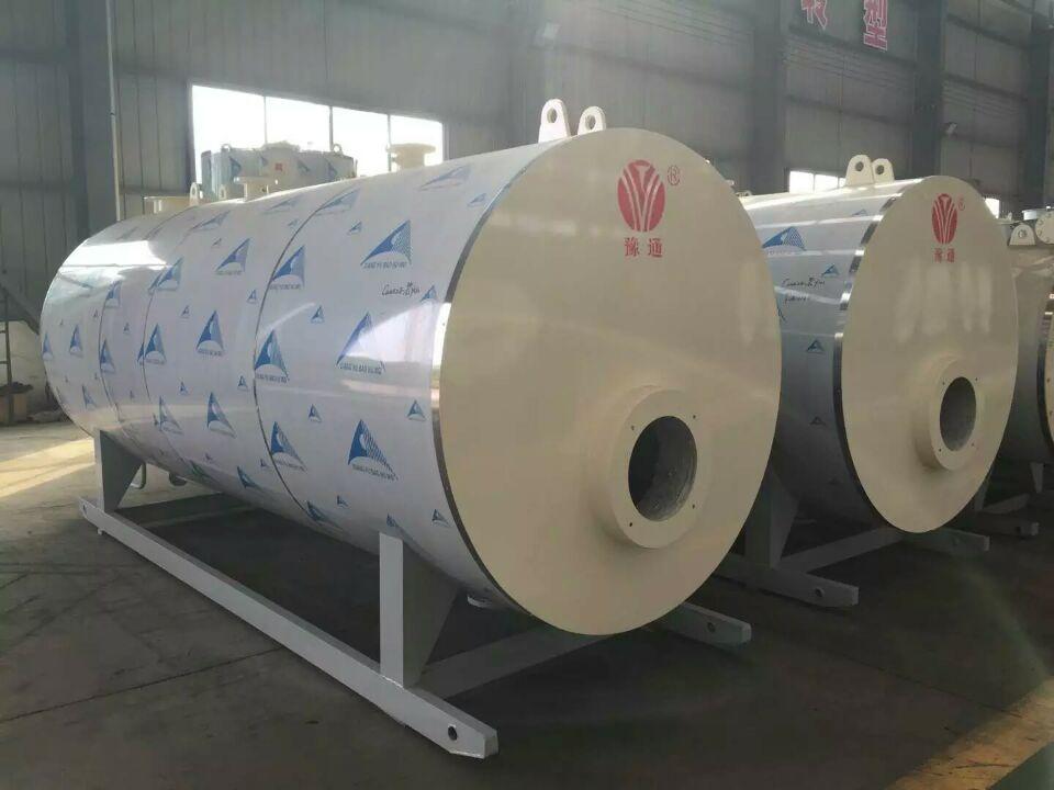 河南省太康卧式燃油燃气蒸汽锅炉
