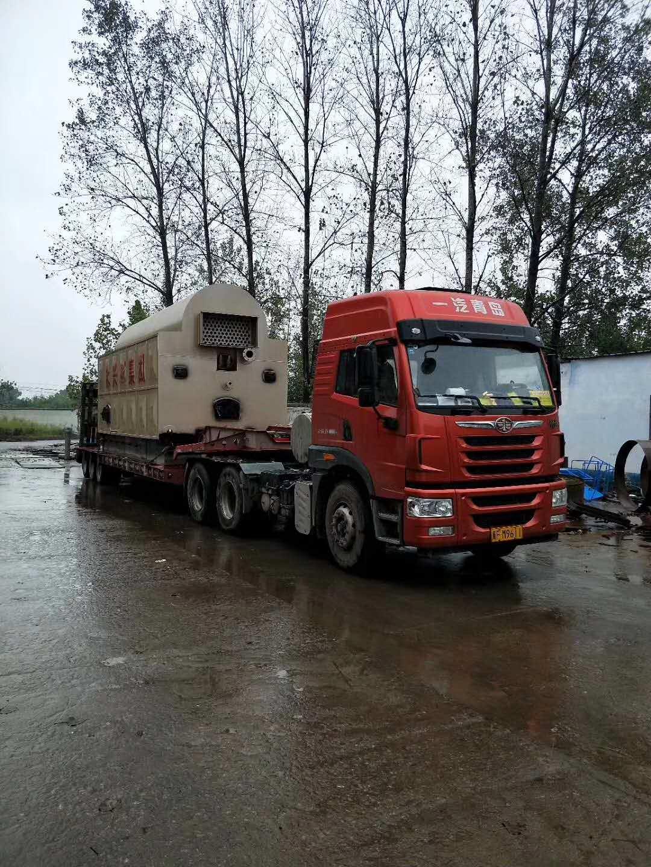 内蒙古客户采购太康锅炉厂燃煤热水锅炉